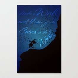 Girl & the Birds Canvas Print