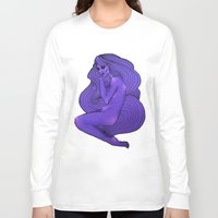 lunar Long Sleeve T-shirts featuring LUNAR  by Enola Jay