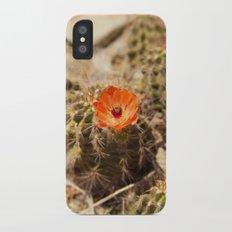 Cactus Flower (Portrait) Slim Case iPhone X