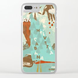 Aan w/ Helvetia & Cabana @ Bunk Bar, Portland, Oregon, February 7th Clear iPhone Case
