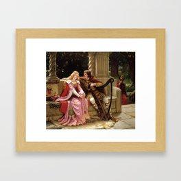 "Edmund Blair Leighton ""Tristan and Isolde"" Framed Art Print"