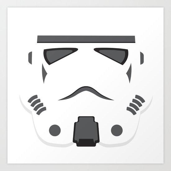 Storm Trooper - Starwars Art Print