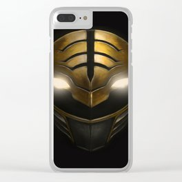 Gold Ranger - Power Ranger Clear iPhone Case