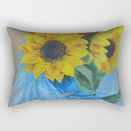 Sunflower Season Rectangular Pillow