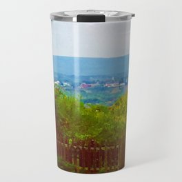 Amherst, Massachusetts Valley Travel Mug