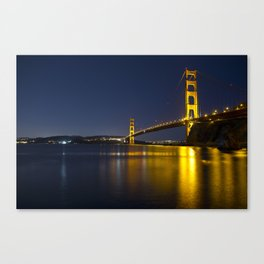Fort Baker, Sausalito Canvas Print