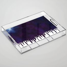 Painted Space Acrylic Tray