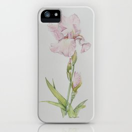 Lonnie's Iris iPhone Case