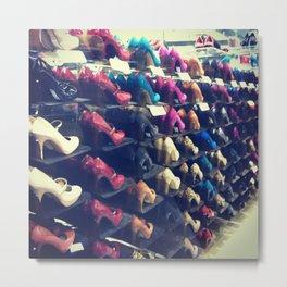Shoes Matter Metal Print