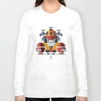 aquarius Long Sleeve T-shirts featuring AQUARIUS by Angelo Cerantola