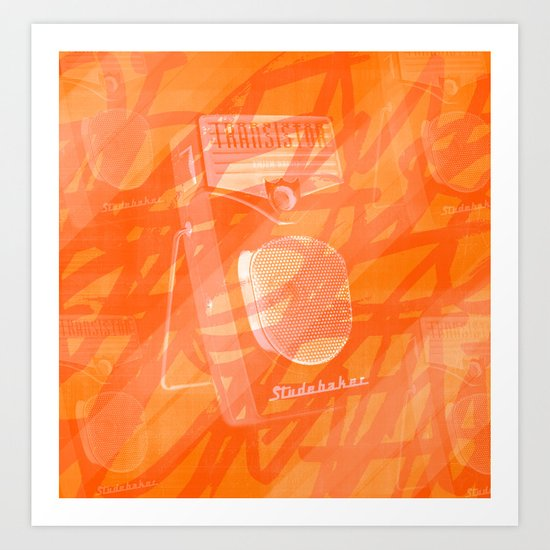 Play Me Like a Studebaker. Art Print