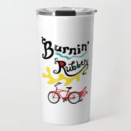Burning Rubber bike Travel Mug