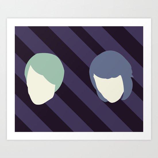 Tegan and Sarah Art Print