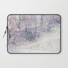 Snow in early fall(2). Laptop Sleeve