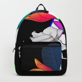 Letter A neon Backpack