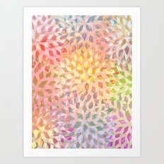 Summer Pattern #2 Art Print