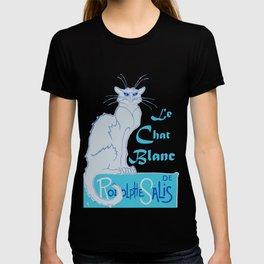 Le Chat Blanc Parody Vector T-shirt