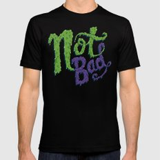 Not Bad Mens Fitted Tee Black MEDIUM
