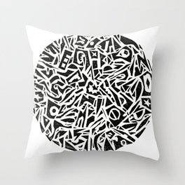 Everything but the kitchen sink Throw Pillow