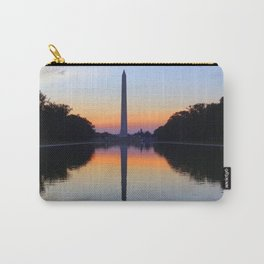 Washington Monument and Reflection Pool Carry-All Pouch