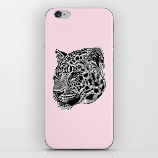 Amur leopard cub - pink - big cat by lorendowding