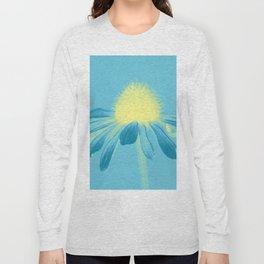 Echinacea in pastel shade Long Sleeve T-shirt