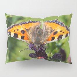 Little Tortoiseshell Buterfly Pillow Sham