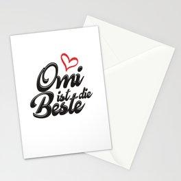 Omi ist die Beste Stationery Cards