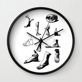 Funny Feet Wall Clock
