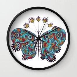 constellation butterfly (ORIGINAL SOLD). Wall Clock