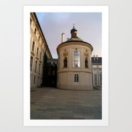 Prague Castle Art Print