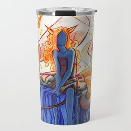 The Fox of Many Tales Travel Mug