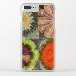 Uniteable Formation Flower  ID:16165-084538-89880 Clear iPhone Case