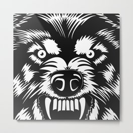 big bad wolf II Metal Print