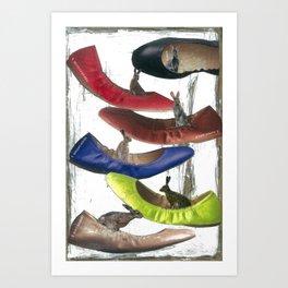 """Big Shoes To Fill"" Art Print"