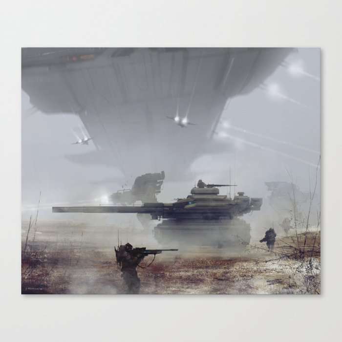 air support Canvas Print