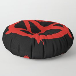 Anarchy Floor Pillow