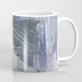Awesome ice dragon with fairys Coffee Mug