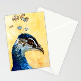 Indian Peafowl 721 Stationery Cards