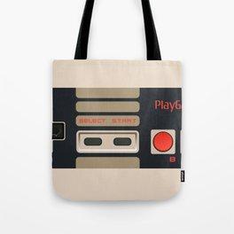 Retro Gamepad Tote Bag