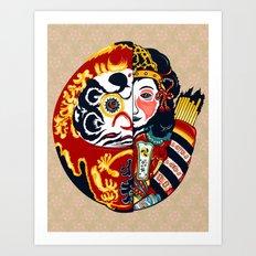 Japenese Dharma Art Print
