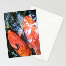 Koi Abstraction 001 Stationery Cards