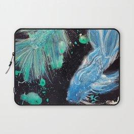 Betta Splendens Splatter Laptop Sleeve