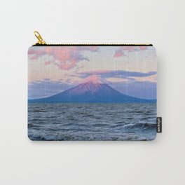Nicaraguan Volcano at Sunset Carry-All Pouch