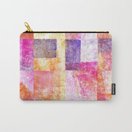 Soft Hued Colors Collage Carry-All Pouch