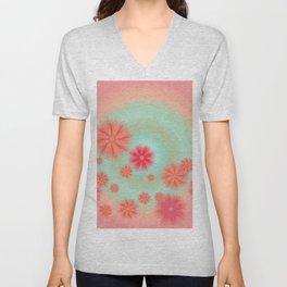 Happy daisies Unisex V-Neck