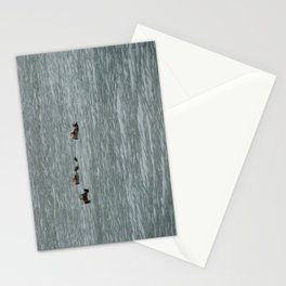 USA - ALASKA - Three otters Stationery Cards