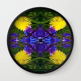 Dandy Four pattern Wall Clock