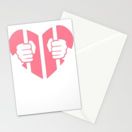 Cardiac Arrest Funny Valentines Day Stationery Cards