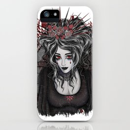 Victorian vampire iPhone Case